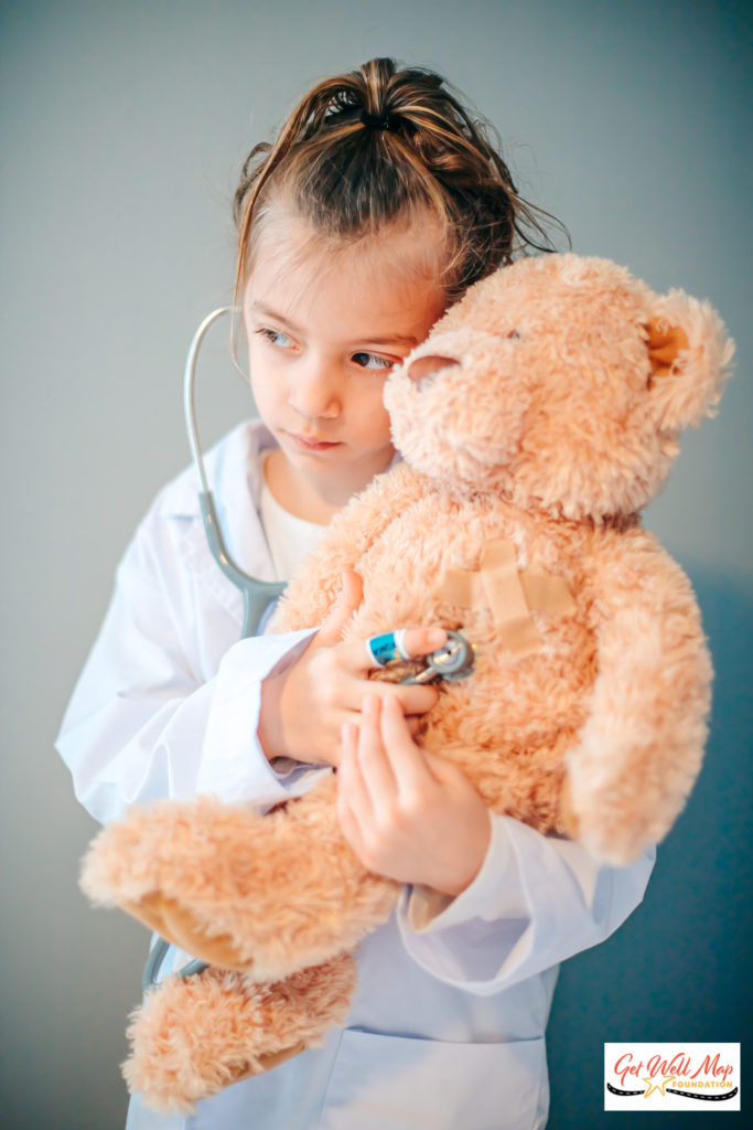 Child Doc with Teddy Bear-1